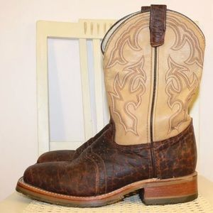DOUBLE H Western Cowboy Boots Worn Once Men's 8D